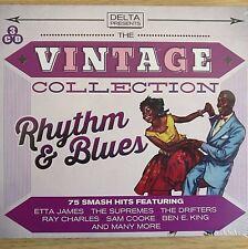 3CD NEW - THE VINTAGE COLLECTION - RHYTHM & BLUES - R&B Pop Music 3x CD Album