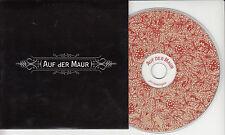 AUF DER MAUR Auf Der Maur 2003 UK 12-track enhanced promo CD