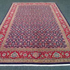 Alter Orient Teppich 335 x 237 cm Herati Dunkelblau Old Oriental Carpet Alfombra