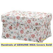 Ikea EKTORP Footstool / Ottoman Slipcover Cover VIDESLUND MULTICOLOR New! SEALED