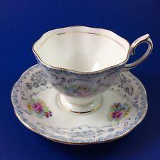 Royal Albert Damask Bone China Tea Cup and Saucer