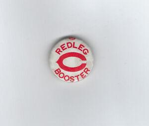 1946 Cincinnati Reds BOOSTER button pin vintage Redlegs original rare