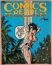 COMICS REVUE #47 ~ FN 1990 COMIC STRIP MAGAZINE ~ MODESTY BLAISE COVER