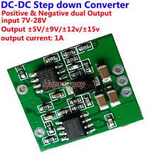 Mini DC-DC Buck Step-Down Volt Converter Regulator Dual Output ±5V ±9V ±12V ±15V