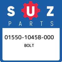 01550-1045B-000 Suzuki Bolt 015501045B000, New Genuine OEM Part