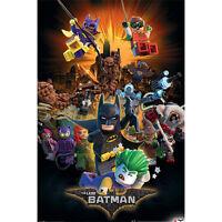 Lego Batman - Boom POSTER 61x91cm NEW * Harley Quinn Batgirl Robin Joker Poison