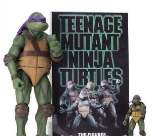 Teenage Mutant Ninja Turtles Movie SDCC 2018 Figure Box Set 4Pack TMNT 1990 18 F