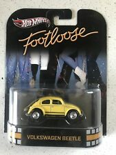 Hot Wheels 2012 Retro Entertainment Volkswagen Beetle VW Footloose w/ Real Rider