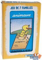 """Jeu de 42 cartes : 7 Familles """"Animaux""""  Jeu de carte France carte"""