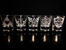 Legend of Zelda Shot Glass Set of 5