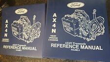 GENUINE FORD AX4N vol a & B TRANSAXLE THEORY OPERATION  MANUAL PTB 407A  5080