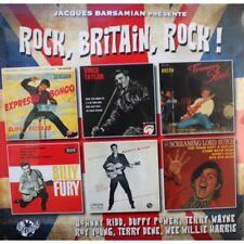25 CM 10INCH Rock, Britain Rock!  Billy Fury Vince Taylor Johnny Kidd ROCKABILLY
