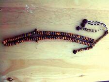 Sufi Style Medium Size Natural Oud Wood 100 bead Tasbih/Tasbeeh/Prayer Beads