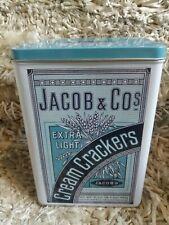 Jacob & Co Jacob's Extra Light Cream Crackers Hinged Lid Tin By Half Moon Bay