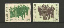 EUROPA CEPT 1981 Foroyar îles de Féroé 2 timbres neufs MNH /TR1685