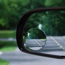2nd Generation Convex Glass Blind Spot Mirror, BORWAY 360° Rotatable Rear-View
