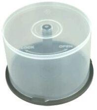 5 CD DVD Plástico Pastel tinas posee 50 Discos Huso cajas de almacenamiento vacío nuevo caso