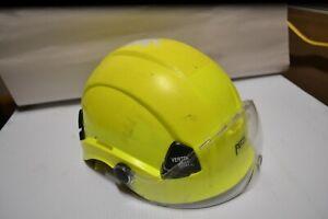 PETZL Vertex BEST Yellow Helmet SHIELD HAS VERYMINOR SCRATCHES  53-63 cm,