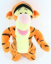 "Fisher Price Disney Tigger Rattle Toy Plush Stuffed Animal Orange Tiger 11"""