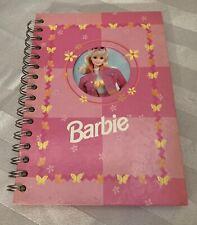 1997 Teenage Barbie Spiral Notebook New Condition