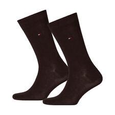6 Paar Tommy Hilfiger Socken Classic 43-46 dunkelbraun