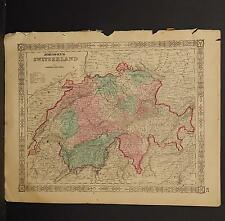 Johnson's Maps, 1864, Switzerland O3#67