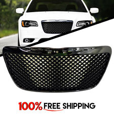 Chrysler 300 Front Mesh Hood Grille Gloss Black Grill Honeycomb years 11 to 14