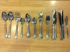 45 pc International  Stainless Steel Flatware for 8