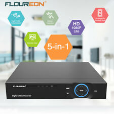 FLOUREON 4/8CH/16CH 5IN1 1080N HDMI VGA DVR Video Recorder CCTV Security Camera