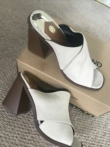 River Island . Ladies /girls Size3. New . Suede Feel  Open Shoes Summer .RRP £40