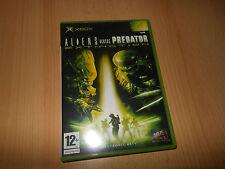 Aliens Versus Predator Extinction  Xbox NEW NOT SEALED pal version