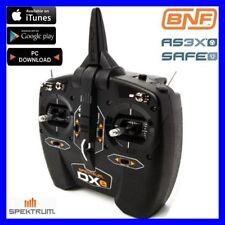 Spektrum DXe 6ch 2.4ghz DSMX RC Airplane / Helicopter Transmitter TX SPMR1000