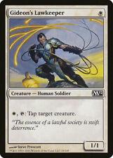 Magic MTG Tradingcard Core Set 2012 Gideon's Lawkeeper 18/249
