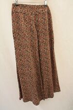 River Island, Ladies Ditsy Floral Print Wide Leg Palazzo Trousers, Size 6