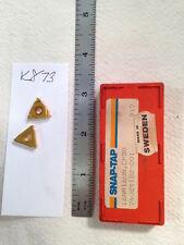 8 New Snap Tap 16 Nr 16 Un Threading Carbide Inserts Grade Cp30 K873