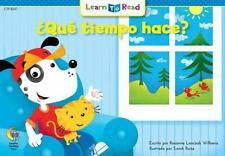 Que Tiempo Hace? = How's the Weather? (Paperback or Softback)