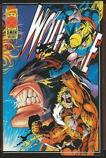 Wolverine #90 (Feb 1995, Marvel) Sabertooth,with Fleer X-men Cards,