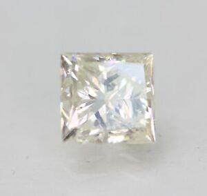 Certificato 1.00 Carato I VS2 Principessa Trattato Diamante Naturale 5.26x5.06mm