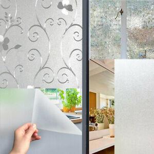 Fensterfolie Folie Milchglas Fenster Sichtschutz Selbstklebend Sichtschutzfolie