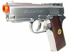 WG Mini Tactical Silver CO2 Airsoft Pistol