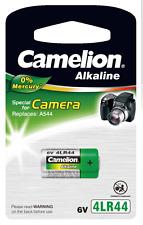10 x 4lr44 Camelion Alkaline 6v-v4034px 2cr1 v28pxl a544 l1325 gp476a 1/3 n