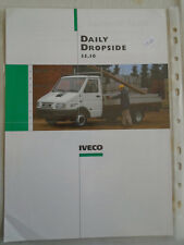 Iveco Daily Dropside 35.10 brochure c1999