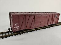 HO Scale Athearn Southern Pacific 50' Double Door Box Car, Used, Aged, Weathered