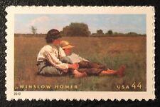 2010 Scott #4473 - 44¢ - WINSLOW HOMER - PAINTER - Single Stamp - Mint NH