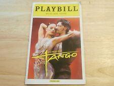 Playbill Program Forever Tango Walter Kerr Theatre 2013 NYC Luis Enrique