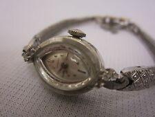 Longines 17j Jewels 14k Gold Case & Back Diamond Watch