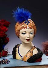 "Cameo Girl Head Vase Sasha 1910 ""Joie de Vivre"" MIB  FREE SHIPPING"