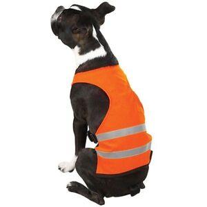 Reflective Orange Hunting safety Dog Vest Guardian Gear Size Choice