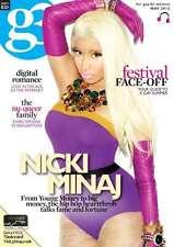 g3 Magazine GAY BISEXUAL WOMEN May 2012 NICKI MINAJ DJ Sandra D  NEW