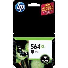 NEW HP 564XL Black Genuine Ink Cartridge PhotoSmart C6375 C6388